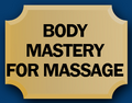 Body Mastery for massage logo