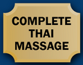 Complete Thai Massage logo