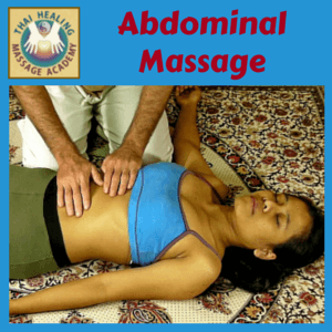 Abdominal Massage course logo