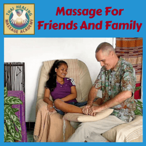 Massage For Friends And Family Massage course logo