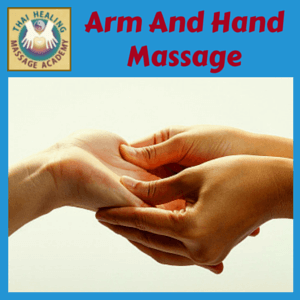 Arm And Hand Massage course logo