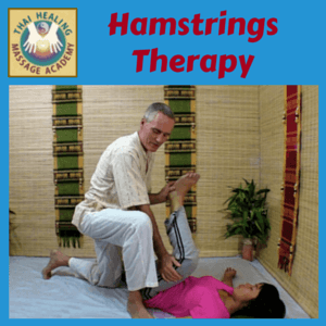 Thai Massage Hamstrings Therapy course logo